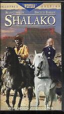 Shalako (VHS) Widescreen Clamshell Collector's Edition! Connery - Bardot