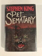 Pet Sematary by Stephen King First Edition 1983