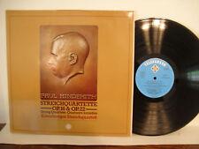 Kreuzberger Streichquartett, Hindemith Streichquartette, 1976 Telefunken 6.42077