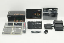 *NEAR MINT in BOX* Ricoh GR1v Date w/ Leather cover, Filters from Japan #3951