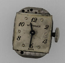 NON WORKING 17 Jewels Ladies Wittnauer Swiss Watch Movement Parts / Repair