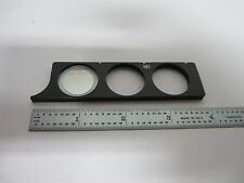 Microscope Filtre ND Lambda Slide Nikon Japon Optiques Tel Quel Bin #K9-09