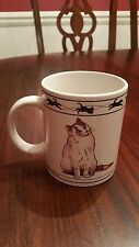 "Turkish Van Cat Chartreux Cat Cat Lovers Limited Coffee Tea Cup 3.75"" Tall"