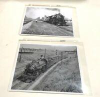 Lot of Baltimore & Ohio Railroad Locomotive Train 5209 Vintage Photos B&W Set 10