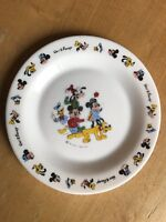 Mickey Mouse Disney Plate Disneyana Very Rare Collectors Item over 38 years old