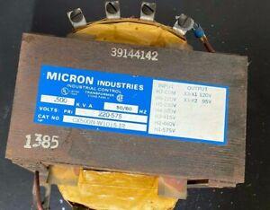 Refurbished - MICRON 200KVA TRANSFORMER CX200N-W1015-IR