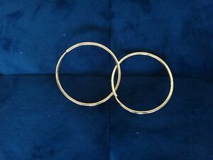 Authentic 18ct Gold Earrings