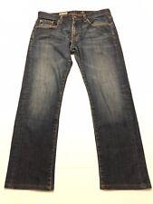 AG Adriano Goldschmied Geffen Slouchy Slim Mens Medium Wash Jeans 34W x 27.5L