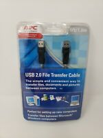 APC USB 2.0 File Transfer Cable 6Ft/1.8M Male-to-Male Brand New Factory Sealed