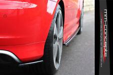 CUP Diffusor Seiten Ansatz SET CARBON für Audi RS3 8PA 11-12 A3 S3 Flap Heck