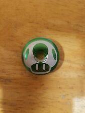 """Magic Mushroom Bicycle Headset Top Cap 1 1//8/"""" Stem Cap Bike Green Mario"""