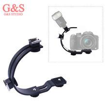 Photography C-Shaped Flash Bracket For LED Video Light DSLR Camera Camcorder