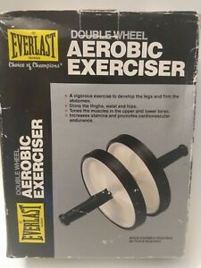 EVERLAST Double Wheel Aerobic Exerciser & Full Body Plus Core Strengthen & Toner