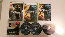 THE BOURNE CONSPIRACY XBOX 360 GAME HMV EXCLUSIVE BONUS MUSIC CD DVD