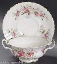 Royal  Albert  Lavender Rose  Soup  Bowl  Set  x 6  RARE