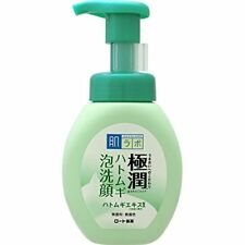 Rohto Hadalabo Gokujyun Pearl barley Facial foam 160ml From Japan