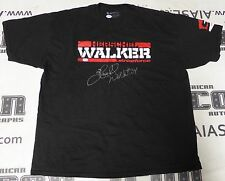 Herschel Walker Signed StrikeForce MMA Shirt PSA/DNA COA Cowboys UGA Autograph