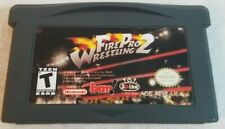 Fire Pro Wrestling 2 for Game Boy Advance - Cart Only - AUTHENTIC - Ships Free