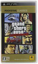 PSP Grand Theft Auto Libert City Stories ROCKSTAR CLASSICS Japan Game