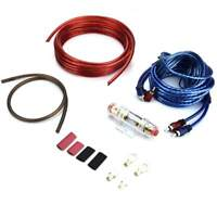 8 Gauge Car Audio Subwoofer Sub Amplifier AMP Wiring Kit Power Cable 1500W