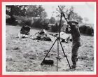 1940 British Anti-Aircraft Gunner Mans Bren Machine Gun 6.5x8.5 News Photo