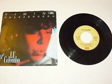 "LU COLOMBO ""RIMINI OUAGADOUGOU"" disco 45giri EMI Italy 1985"