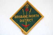 Australian Boy Scouts Patch Brisbane North District High Grade !!!!!!