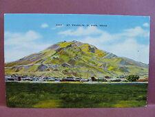 Old PC TX El Paso Mt Franklin