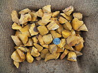 3000 Carat Lots of Yellow Jasper Rough - Plus a FREE Faceted Gemstone