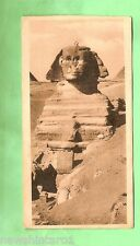 #A. EGYPT  MILITARY POSTCARD -  1919, ON ACTIVE SERVICE, SPHINX