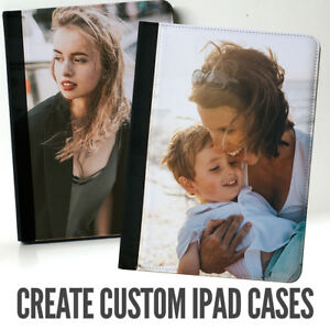 Your Own Custom Photo Flip Case for iPads / mini / Pro Personalized Cover Gift
