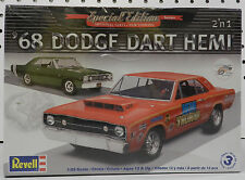 DODGE 1968 DART SCAT PACK DRAG RACING STOCK MOPAR SS HEMI BOYS REVELL MODEL KIT