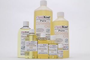 Classikool [Citronella Essential Oil] 100% Pure Aromatherapy & Perfume Making