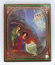 Icon of the Nativity consecrated икона рождество Христово освящена 12х10x1 cm