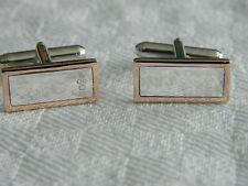 Clogau Sterling Silver & 9ct Welsh Gold Hallmark Cufflinks RRP £310.00