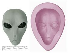 ALIEN / GREY Craft Sugarcraft Sculpey Silicone Rubber Mould