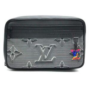 UNUSED LOUIS VUITTON LV Initials Expandable Messenger Shoulder Bag M55698