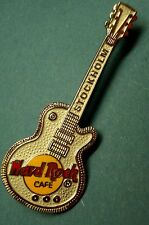 HRC hard rock cafe estocolmo Silver les paul Guitar le1000