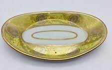 Antique English Porcelain Quill Tray circa 1820