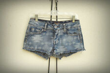 NWT ChiQle Size Mjr. Southwest Style Hot Mini Denim Short Shorts