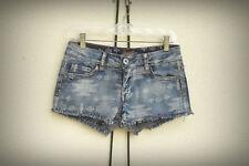 NWT ChiQle Size M Junior Hot Mini Denim Short Shorts