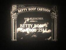 16mm Film Cartoon: Betty Boop Bamboo Island (1932)