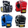 New MMA UFC Sparring Grappling Boxing Fight Punch Ultimate Mitts Leather Gloves