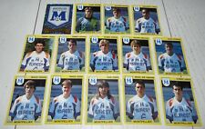 MONTPELLIER MHSC MOSSON PAILLADE COMPLETE PANINI FOOTBALL FOOT 92 1991-1992