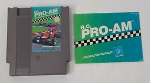 R.C. Pro-Am (Nintendo Entertainment System, 1988) W/ Manual Authentic Tested