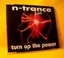 MAXI Single CD N-Trance Turn Up The Power 7TR 1994 House, Trance