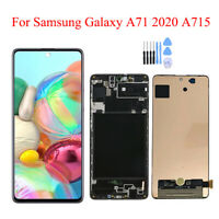 OEM For Samsung Galaxy A71 A715 A715F Display LCD Touch Screen Digitizer + Frame