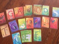 New Grimms Extras Alphabet Cards Laminated By Me