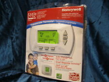 Honeywell RTH 6450  Digital 5*1*1* Day Programmable Thermostat  Green display.