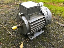0.25 KW 1/3 HP 3 PHASE 415V AC ELECTRIC MOTOR 1380 RPM 14mm DIAMETER X 42 SHAFT